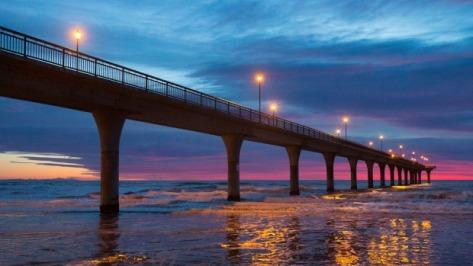 New Brighton Pier at Dawn