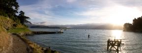 Overlooking Corsair Bay