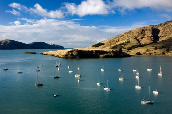 Diamond Harbour with Boats