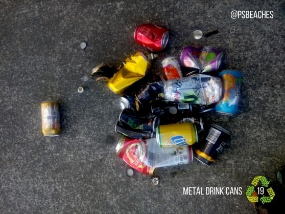 Metal Drink Cans