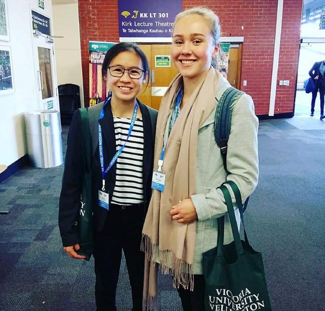 E Wen Wong New Zealand Model United Nations 2018