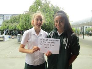 Kiwi Bottle Drive Petition Signing
